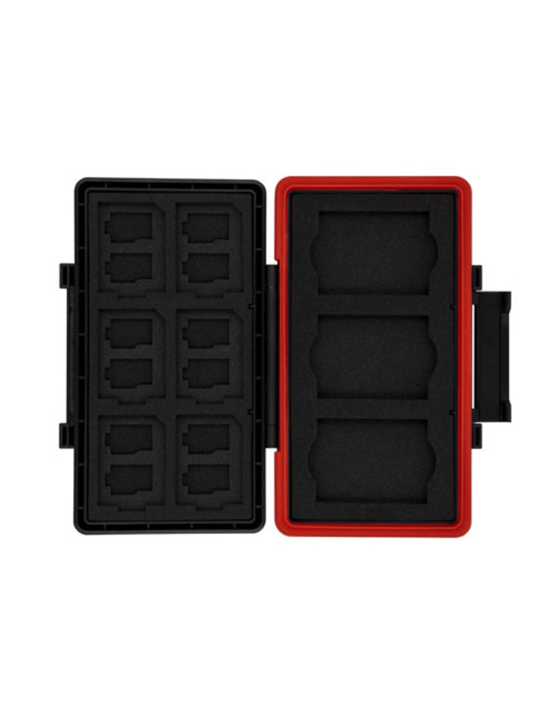 Promaster Rugged Memory Case for XQD, CFexpress type B, SD & Micro SD