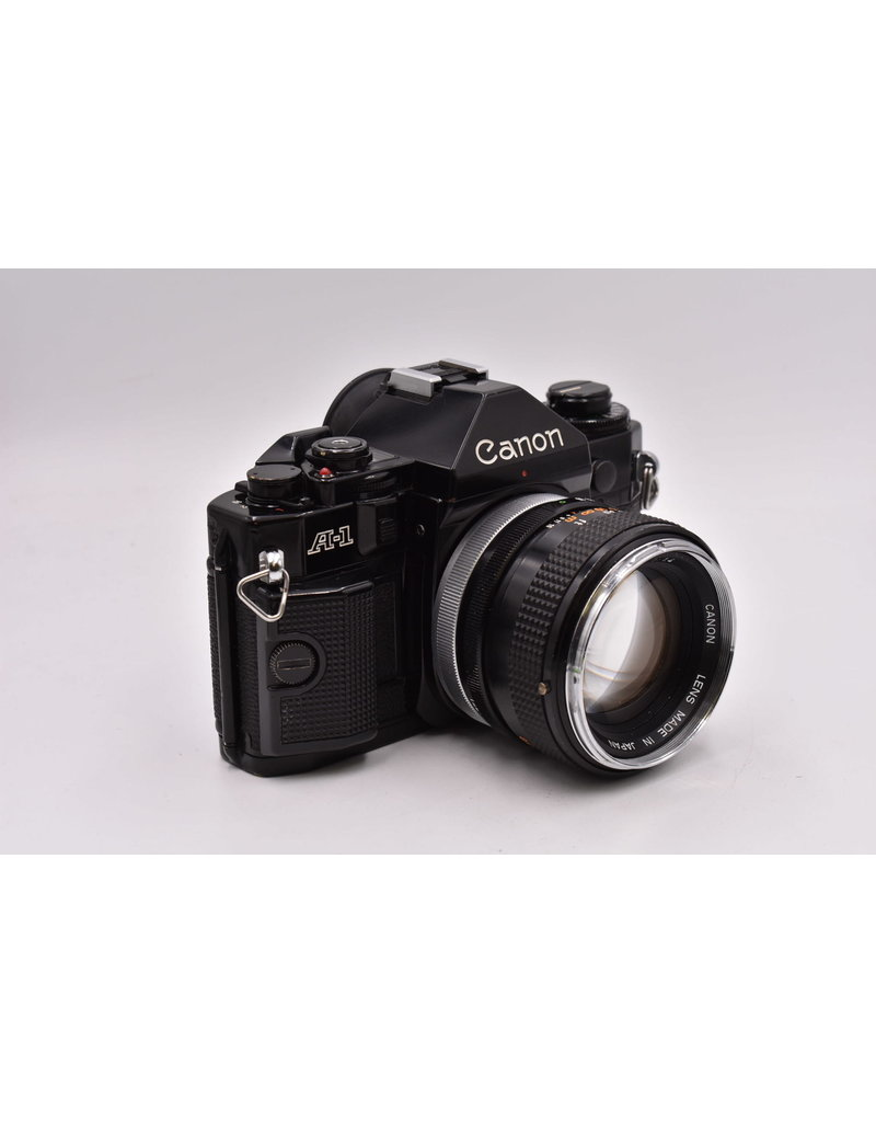 Canon Pre-Owned Canon A-1 With 50mm F1.4