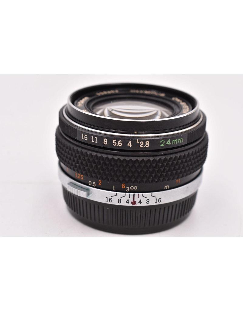 Pre-Owned Olympus 24mm F2.8 OM