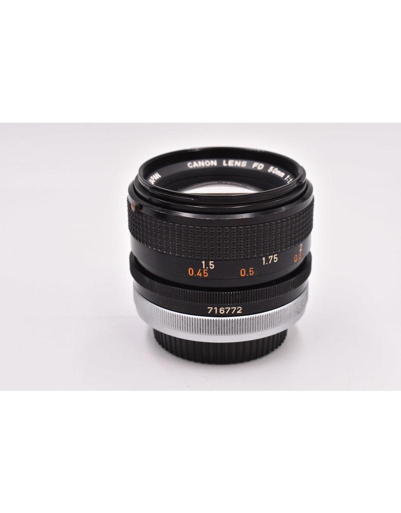 Canon Pre-Owned Canon FD 50mm F1.4 S.S.C.
