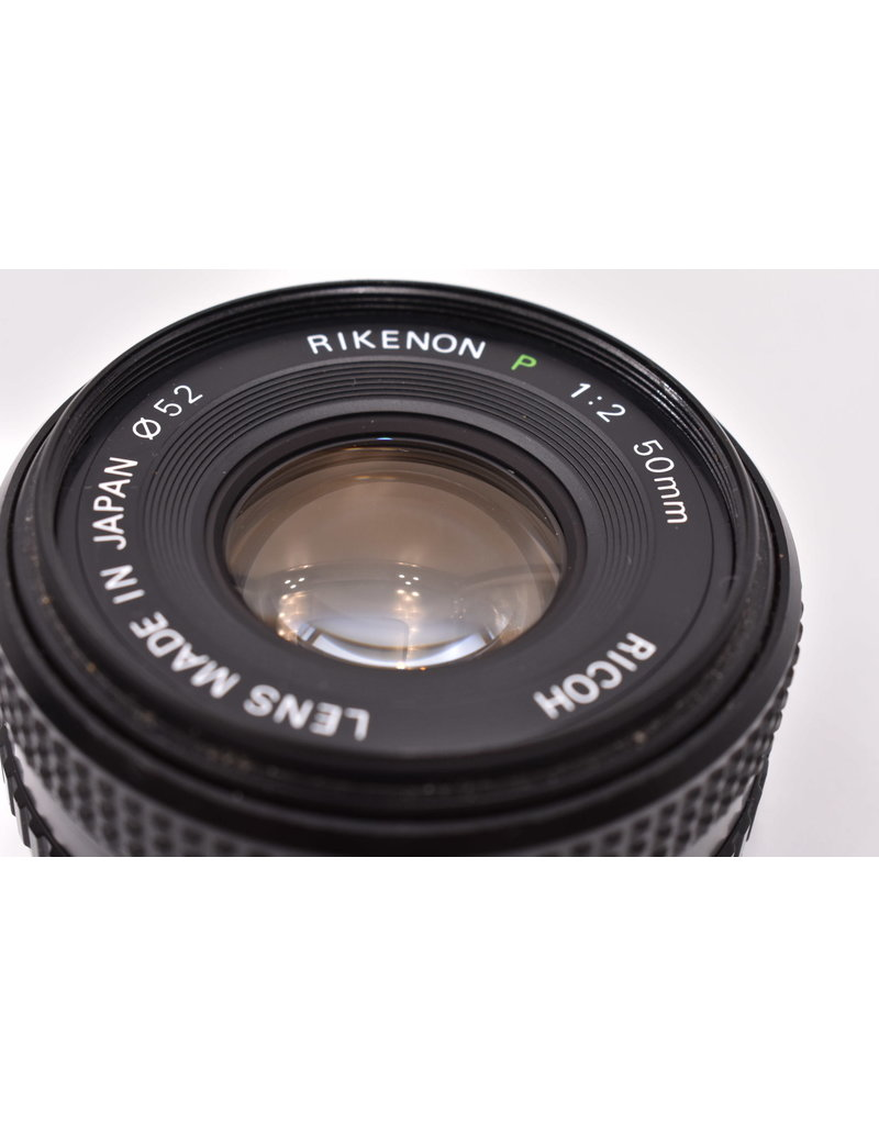 Pre-Owned Ricoh 50mm F2 For PK Mount Cameras