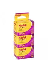 Kodak Kodak Gold 200 35mm 36 Exposure 3 Pack
