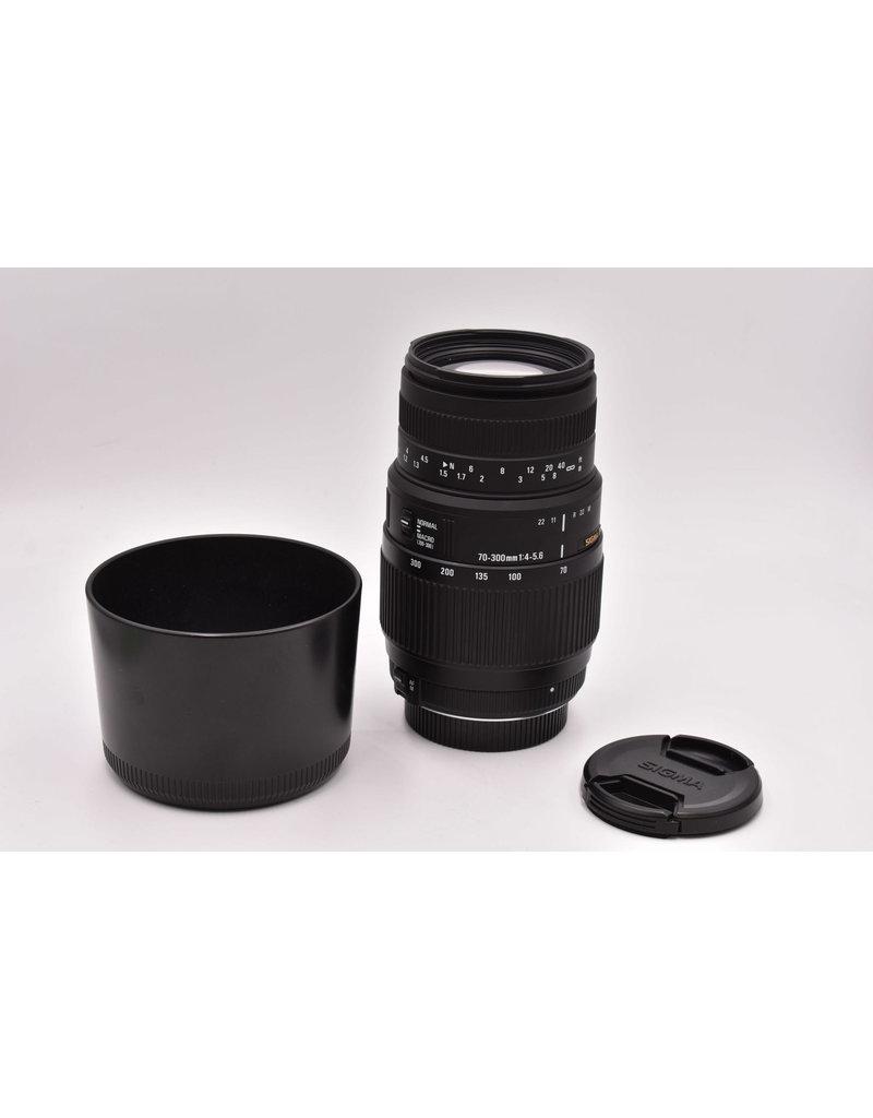 Pre-Owned Sigma 70-300mm F4-5.6 Nikon