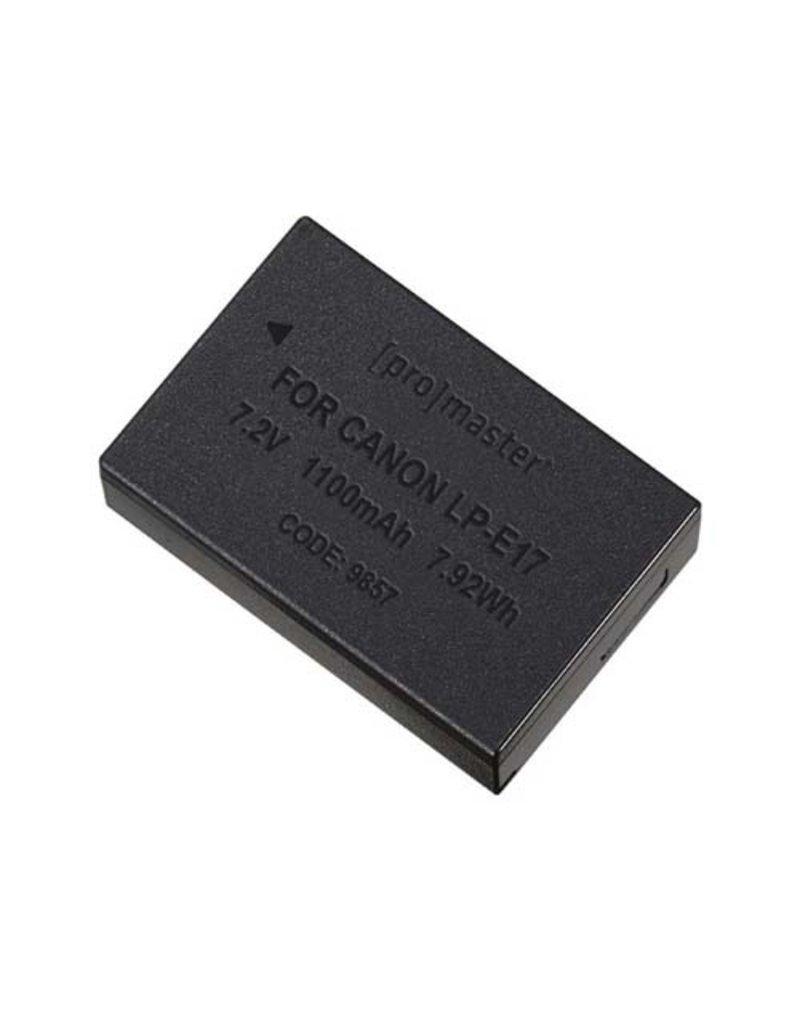 Promaster Li-ion Battery for Canon LP-E17