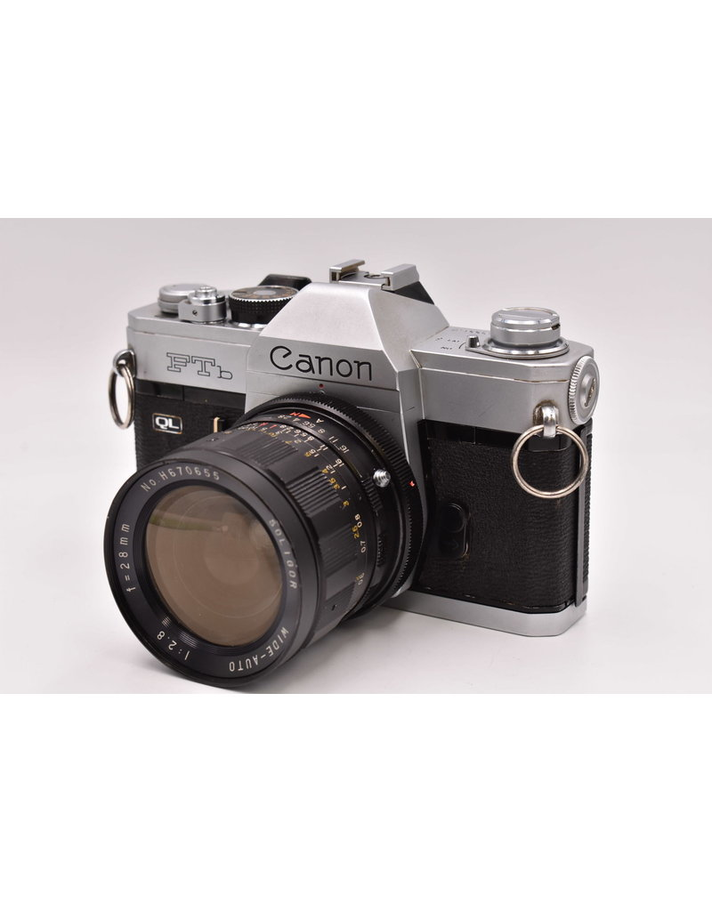 Canon Pre-Owned Canon FTb QL With 28mm F2.8
