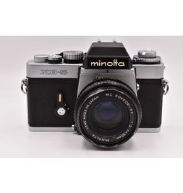 Pre-Owned Minolta XE-5 With 50mm F2.0