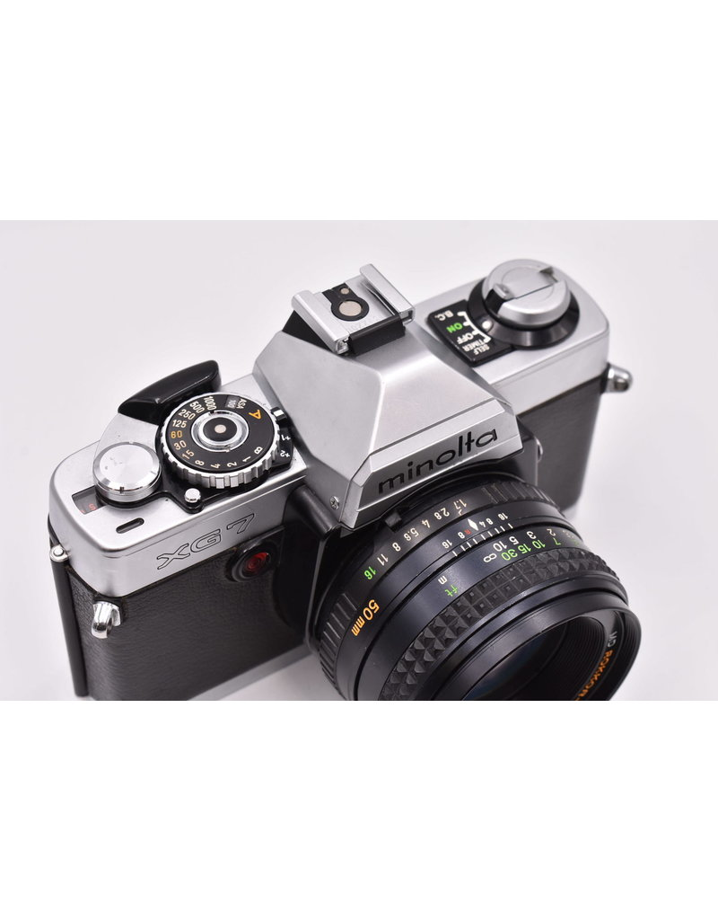 Pre-Owned Minolta XG7 With 50mm F1.7