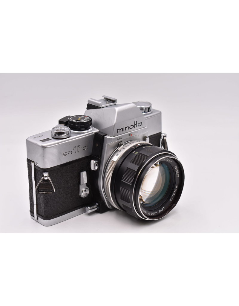 Pre-Owned Minolta SRT101 With 50mm F1.4