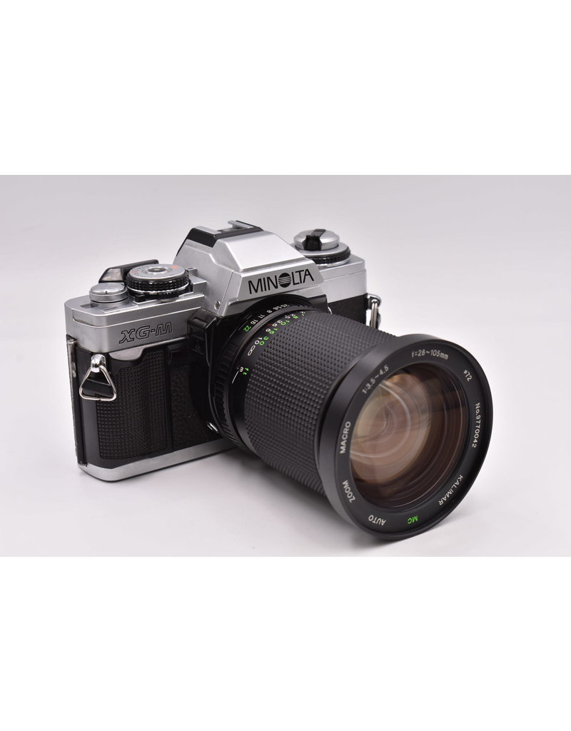 Pre-Owned Minolta XG-M With 28-105mm Lens