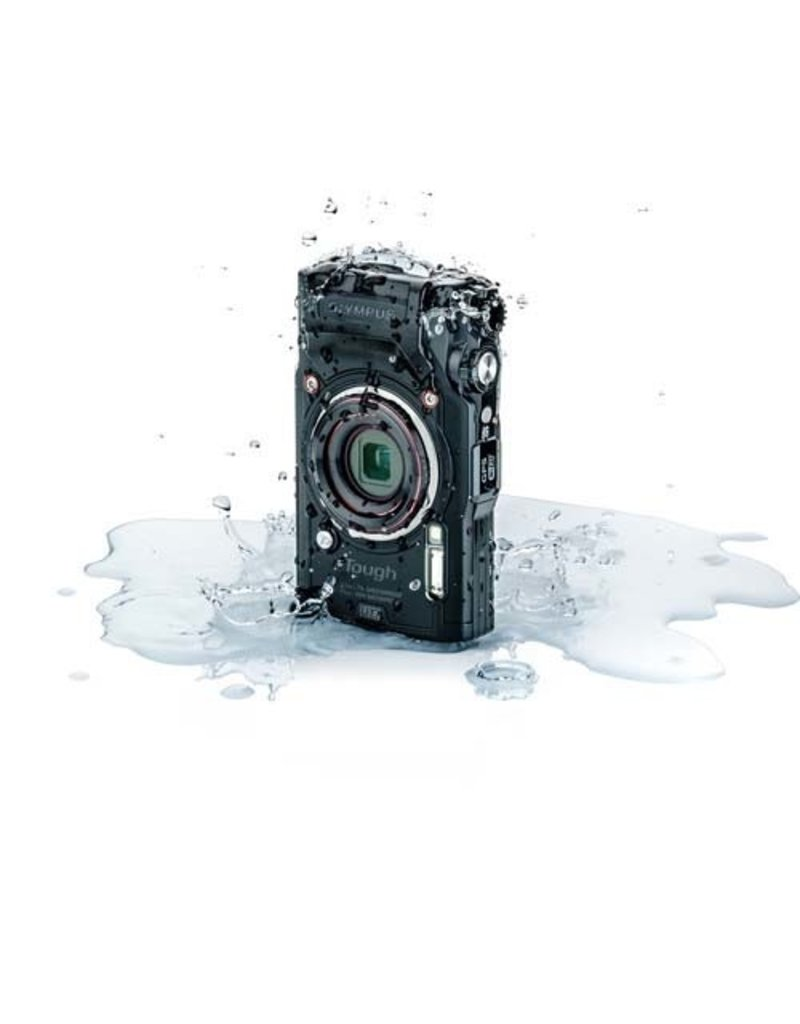 Olympus Olympus Tough TG-6 Digital Camera (Black)