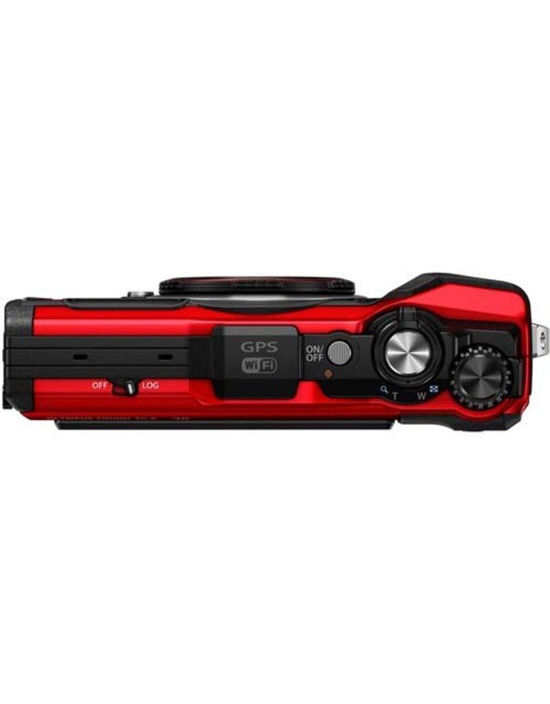 Olympus Tough TG-6 Digital Camera (Red)
