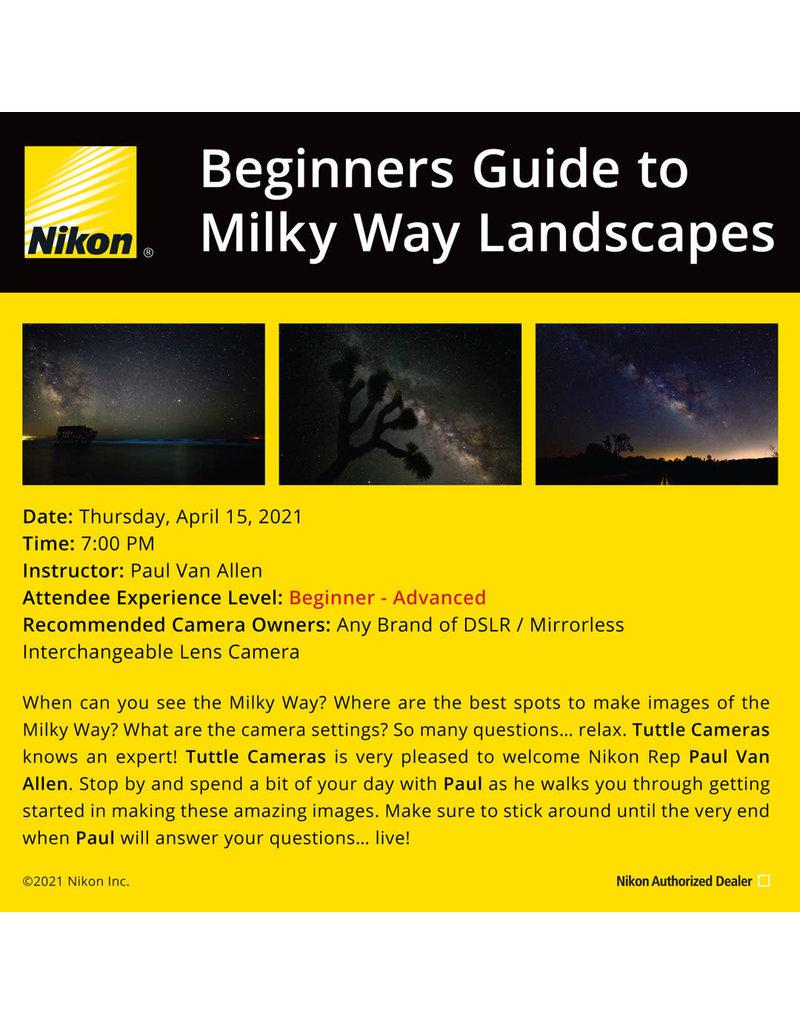 Beginners Guide to Milky Way Landscapes With Paul Van Allen