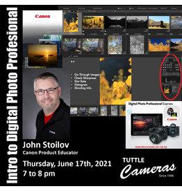 Intro to Digital Photo Professional