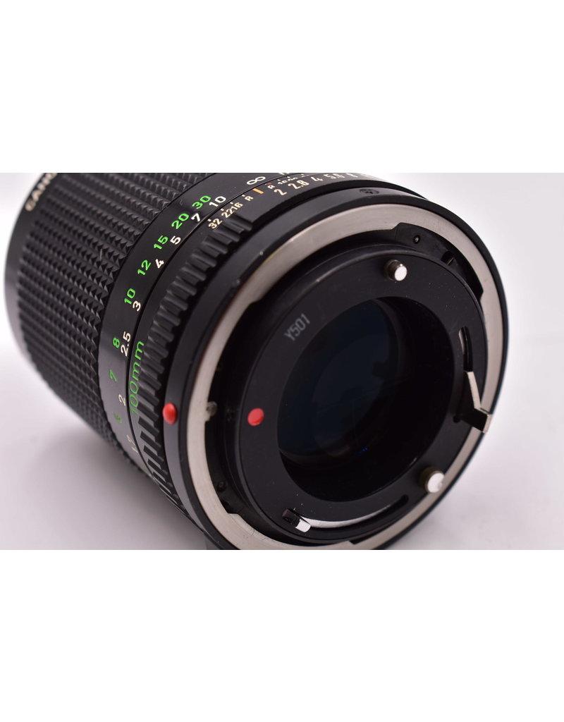 Canon Pre-Owned Canon 100mm F2 FD Very Rare