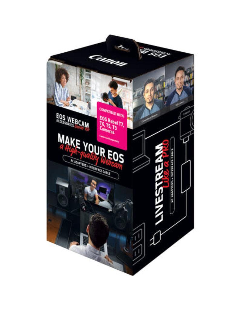 Canon Canon EOS Webcam Accessories Starter Kit for EOS Rebel T3, T5, T6 & T7 DSLR Cameras