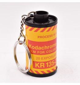 Vintage 35mm Film Canister Keychain