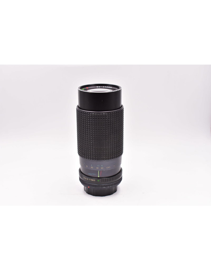 Pre-Owned Tokina 80-200mm F4 FD Mount