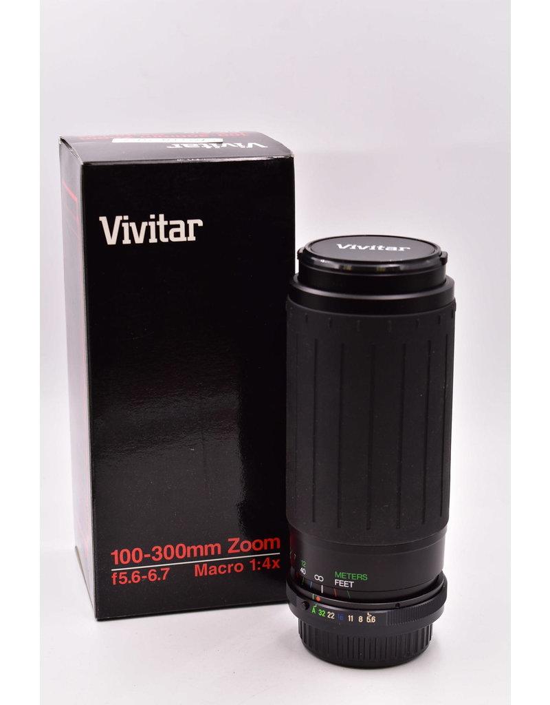 Pre-Owned Vivitar 100-300mm Zoom Pentax Mount