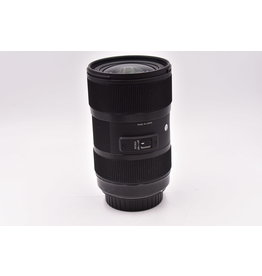 Pre-Owned Sigma 18-35mm F1.8 DC Caon EF