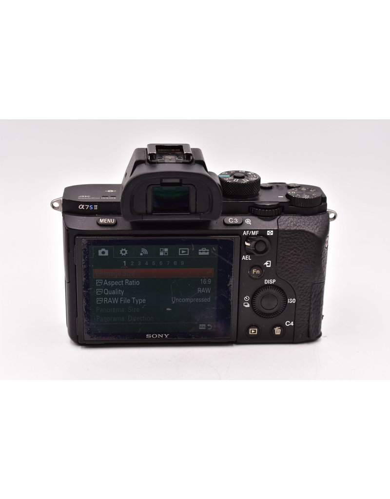 Sony Pre-Owned Sony A7s II Body With 3 Batteries and Charger