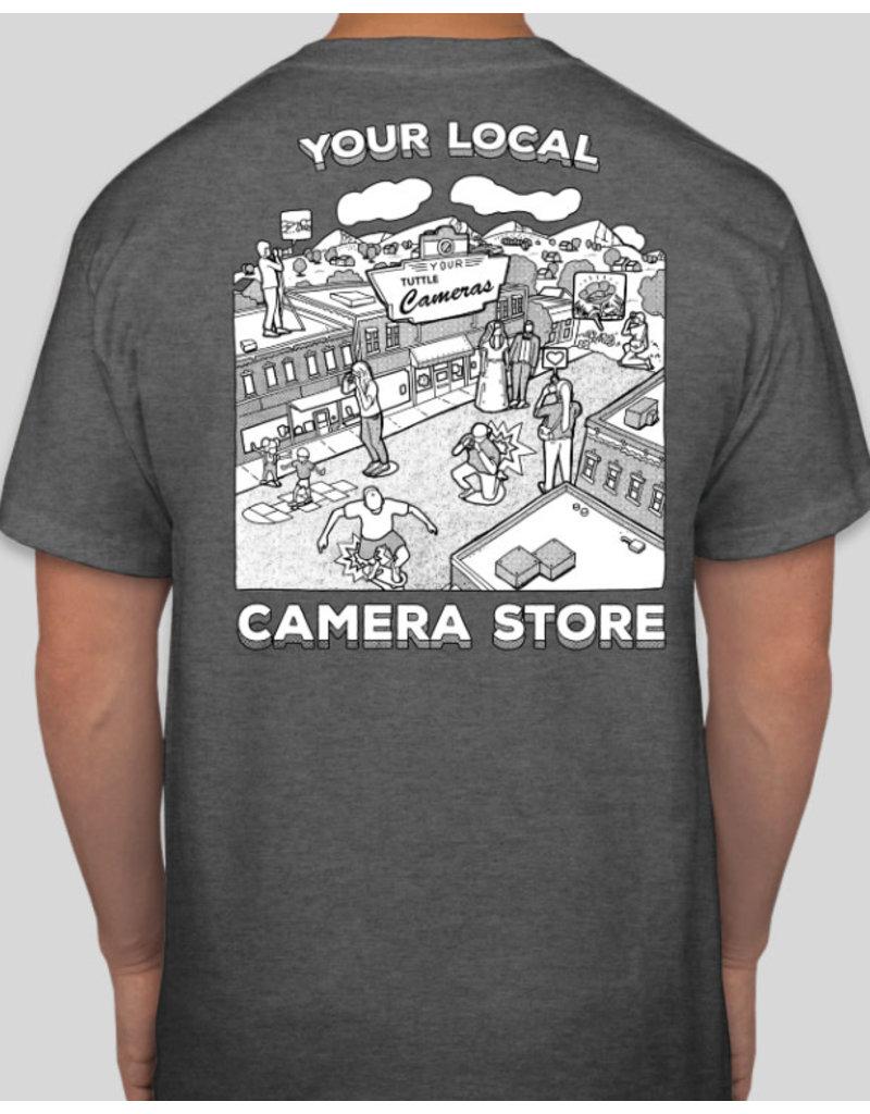 Your Camera Store Men's T-Shirt Gray L