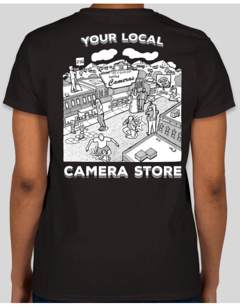Your Camera Store Women's T-Shirt Black L