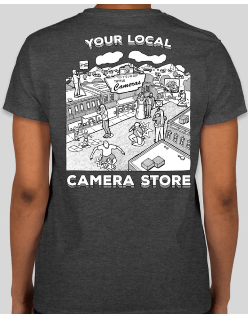 Your Camera Store Women's T-Shirt Gray L