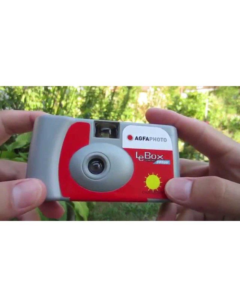 Agfa LeBox Camera Outdoor 400 ISO 35mm 27EX