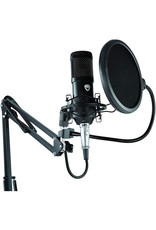 Smith-Victor Smith-Victor Studio Podcast System (LED Ring Light, Microphone, Boom Stand, Headphones)
