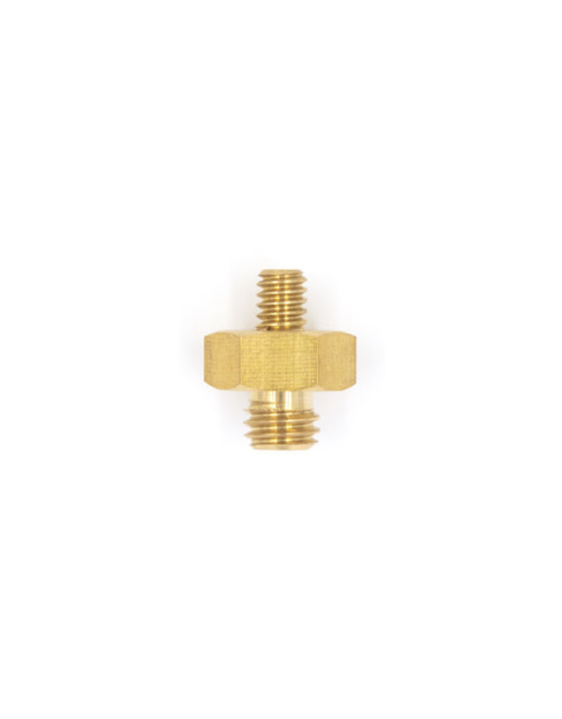 "Promaster Short Adapter Spigot 3/8""-16 male - 1/4""-20 male"