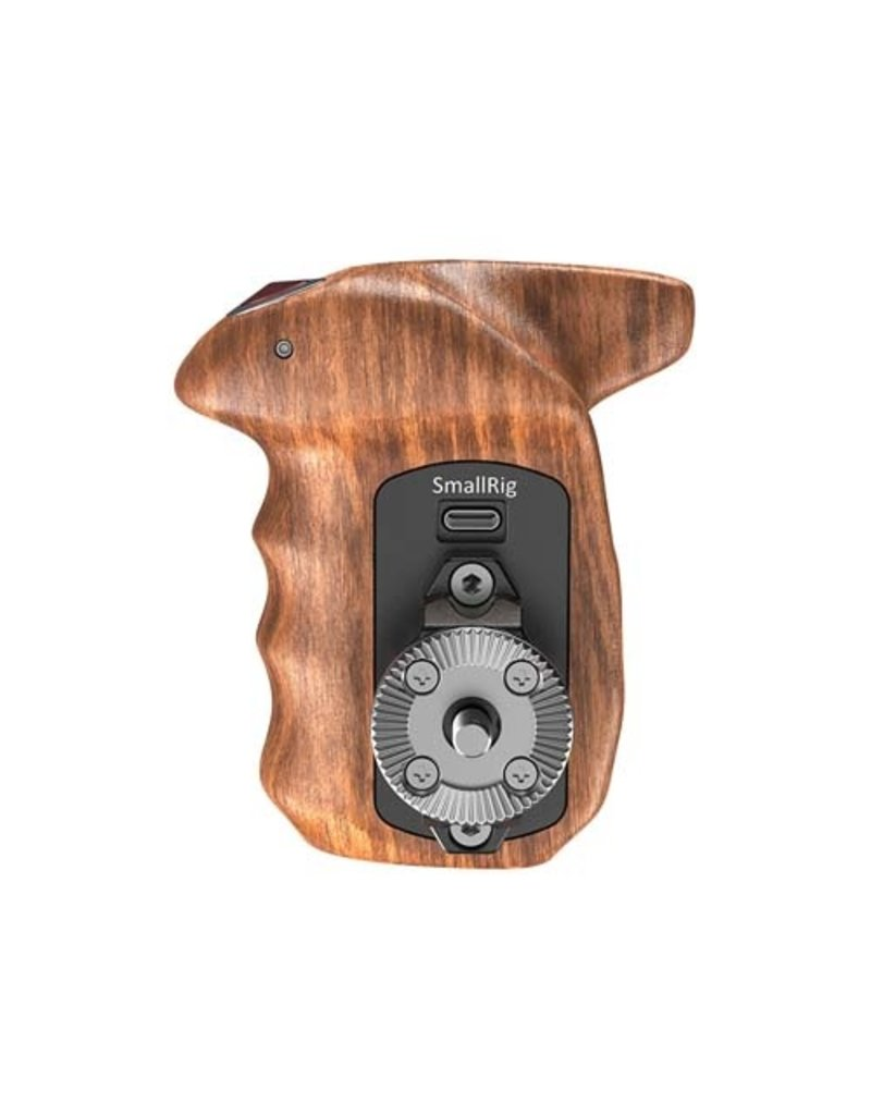 SmallRig SmallRig Right Side Wooden Hand Grip with Record Start/Stop Remote Trigger for Sony Mirrorless Cameras HSR2511