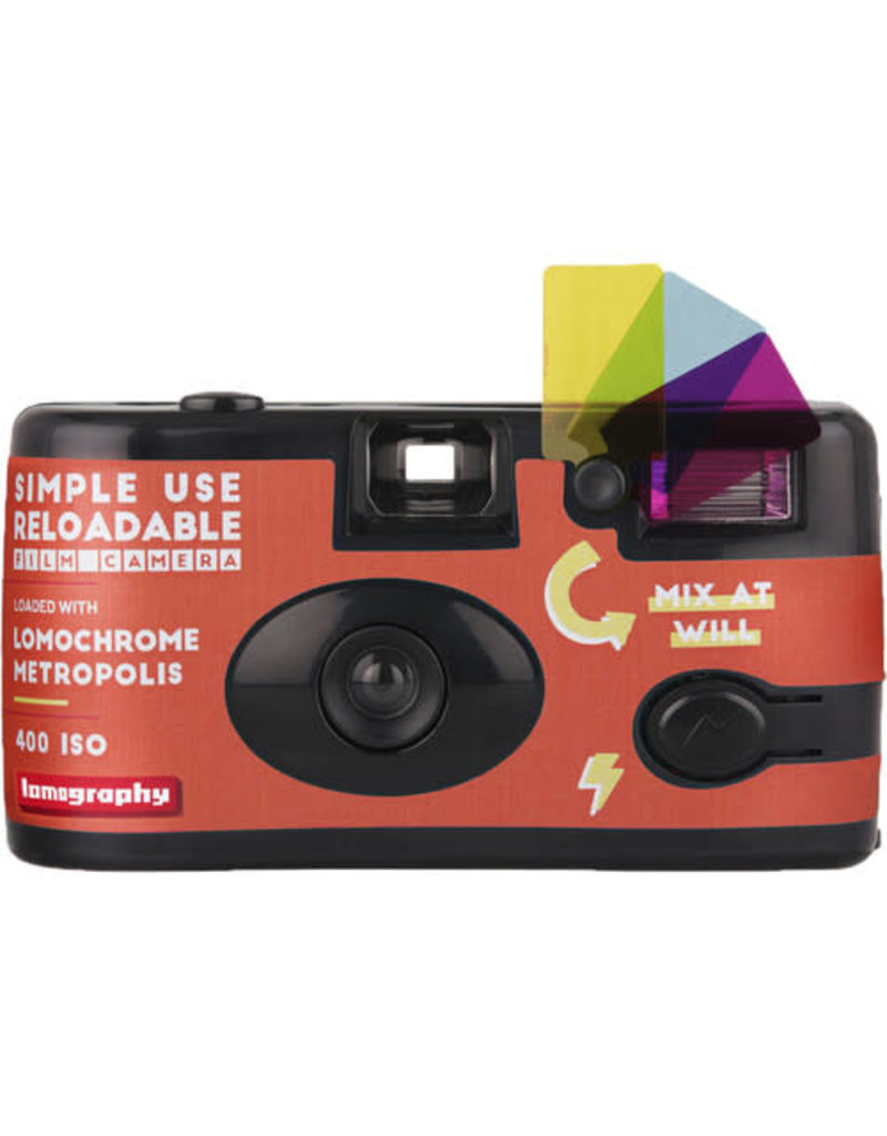 Lomography Lomography LomoChrome Metropolis Simple Use Film Camera (27 Exposures)