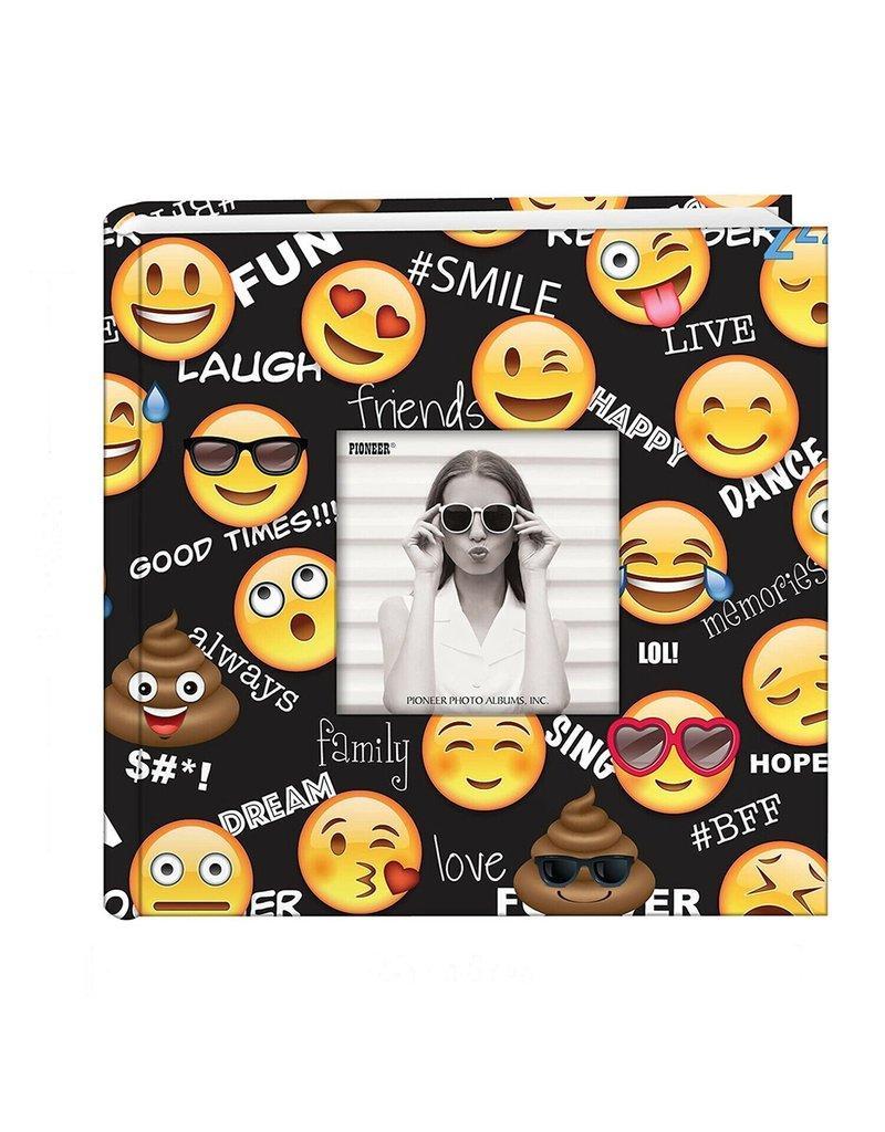 Pioneer  4X6 Album  Emoji 2 Up  Holds 200 Images