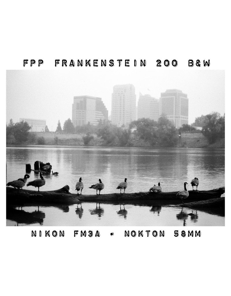 Film Photography Project FPP Frankenstein 35mm 24 Exposures B&W NEGATIVE FILM
