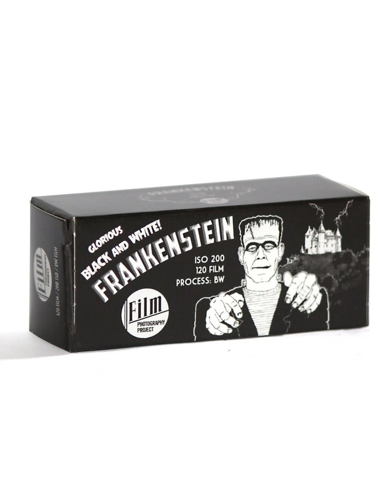 Film Photography Project FPP Frankenstein 120 B&W NEGATIVE FILM 200 ISO Single Roll