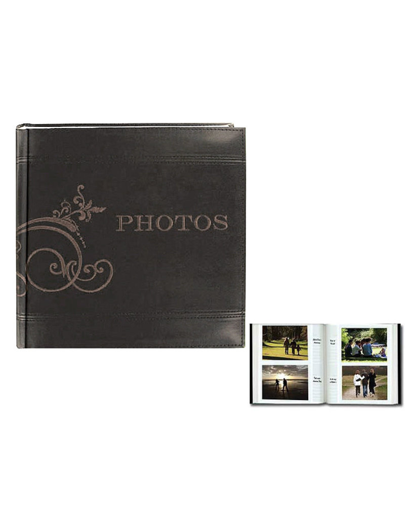 Pioneer  4X6 Album  2 Up Embroider Holds 200 Images
