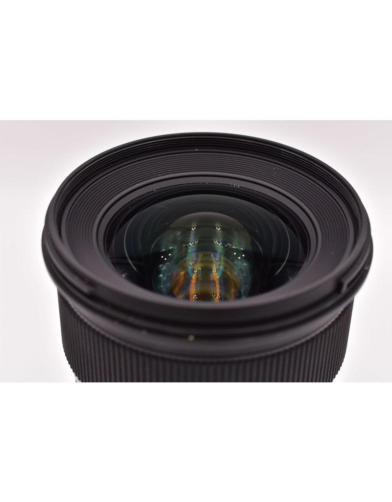 Pre-Owned Sigma 24mm F1.4 DG Art Canon