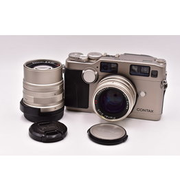 Pre-Owned Contax G2 With 45mm F2 And 90mm F2.8
