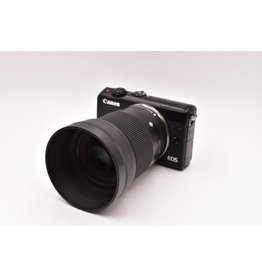 Canon Pre-Owned Canon M100 With Sigma  30mm F1.4