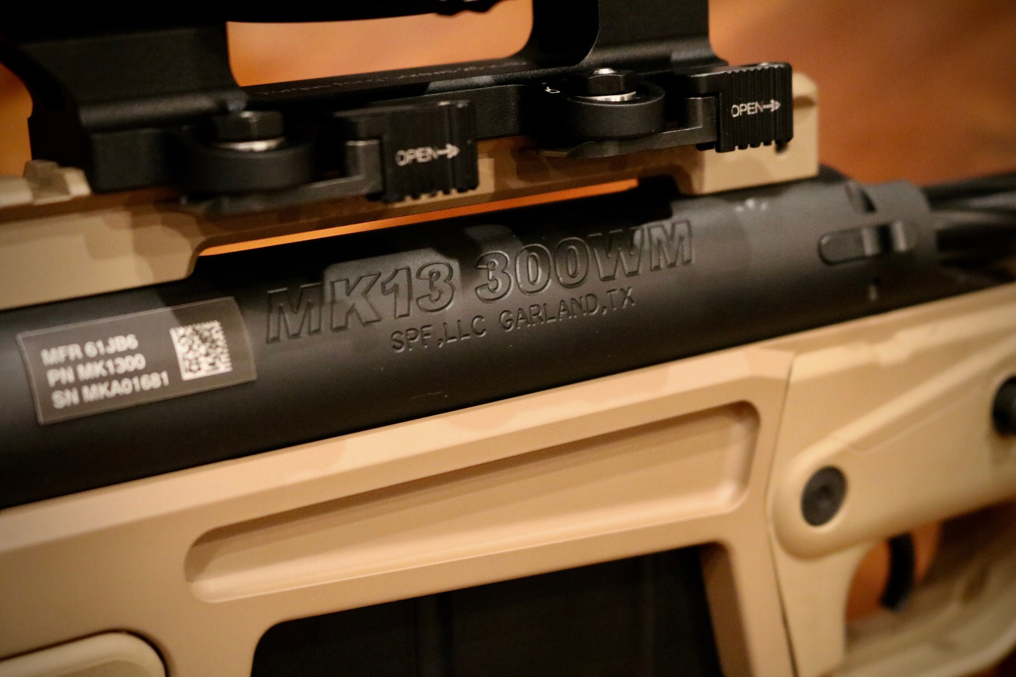 Mk13 Mod 7  300 Win Mag