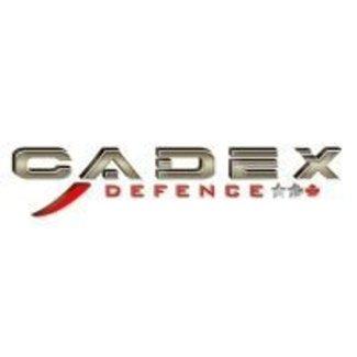 """Cadex Cadex Dual Strike Defiance LA 20 MOA 3.715"""" BLK"""
