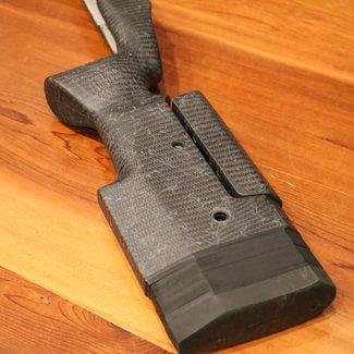 Manners Composite Stocks Manners T4A Rem 700 SA Badger M-5 DBM MP Elite Tac Flat Gray