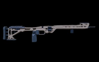 Masterpiece Arms BA Comp Chassis ( Flat Dark Earth ) S/A Rem 700 Inlet