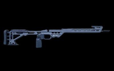 Masterpiece Arms Masterpiece Arms BA Comp Rem 700 SA RH Tungsten Side Folder
