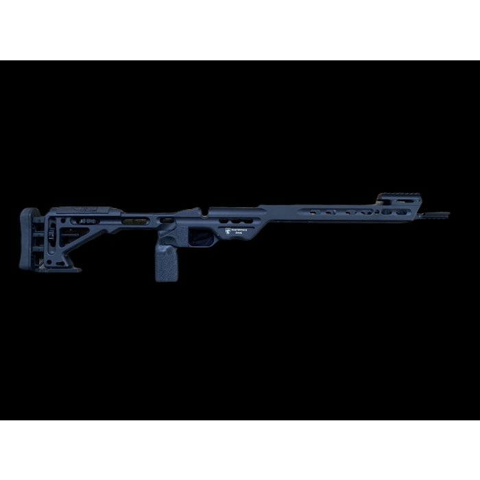 Masterpiece Arms Masterpiece Arms Comp Chassis ( Black ) S/A Rem 700 Inlet