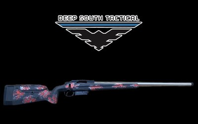 "Deep South Tactical DST Mod 3 - 6 Creedmoor ""MANNERS/BLOODSHOT"""