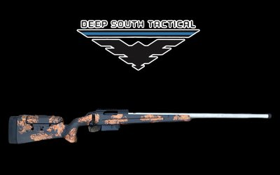 """Deep South Tactical DST Mod 3- 6mm Dasher """"MANNERS/COPPERHEAD"""""""