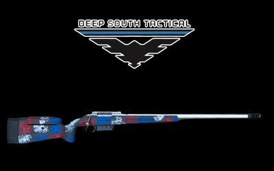 "Deep South Tactical DST Mod 4 - 6mm Dasher ""MANNERS/AMERICANA"""