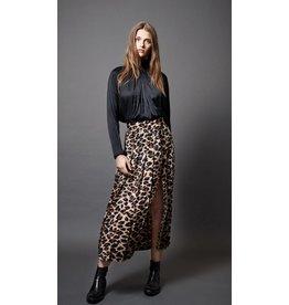 Smythe Smythe Pleated Side Slit Skirt