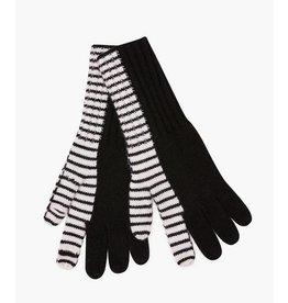 JED JED Bifurcated Stripe Glove